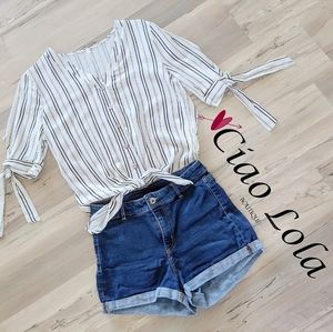 New arrival. Stripe blouse